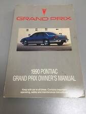The 1990 Pontiac Grand Prix Owner's Manual Guide