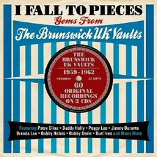 I Fall To Pieces-Gems From The Brunswick UK Vaults 3-CD NEW SEALED Patsy Cline+