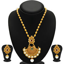 Sukkhi Marvellous Gold Plated Kundan Necklace Set(2580NKDP900)