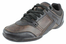 Diesel Mens Oxford Sneakers Excurse Y00036 PS246 H1527 Licorice-Turkish Coffee