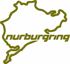 NURBURGRING Logo x 2 - Ken Block Vinyl Sticker Decals 150 x140mm - FREE UK DEL