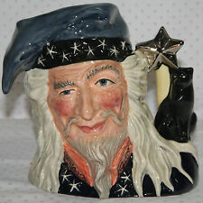 Royal Doulton LARGE Character Toby Jug  THE WIZARD  D6862  MINT