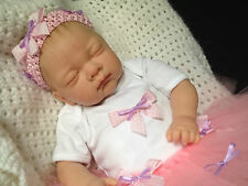 """ LIBBY  "" 18  INCH BEAUTIFUL SLEEPING REBORN BABY GIRL MAGNETIC DUMMY "" SALE """