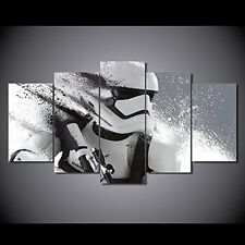 Stormtrooper Star wars print canvas decoration 5 pieces