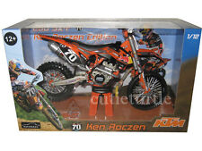 Automaxx 600039 2012 Red Bull KTM 250 SX-F Dirt Bike 1:12 Ken Roczen #70