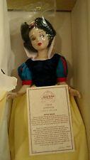 Disney Store Exclusive Snow White & 7 Dwarfs Porcelain Doll LE Set 2332/2500