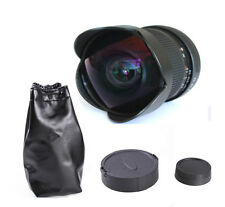 Super Wide Angle 8mm f/3.5 Fisheye Lens Manual Focus For Nikon D7000 D5200 D3200