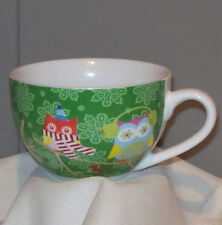 Creative Tops HOLIDAY OWLS Porcelain Cup