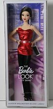 THE BARBIE LOOK COLLECTION CITY SHINE MODEL MUSE ASIAN RED *NEW*