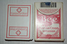 CONTINENTAL HOTEL /CASINO Las Vegas NV PLAYING CARDS RED in box BEE NO.92