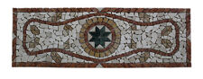 TAPPETO MOSAICO IN PIETRA SU RETE 33x99 CARPET STONE MOSAIC ON NET