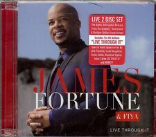 JAMES FORTUNE & FIYA  Live Through It  2 CD set  New Sealed  Contemporary Gospel
