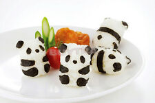 Cute BENTO Accessories Rice Ball Mold With Nori Punch Sushi PANDA Shape FT