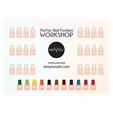 MoYou Nail Fashion WorkSpace Stamping Mat For Nail Art Designs