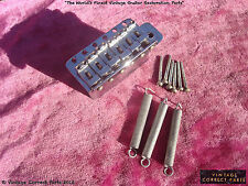 Vintage 1970 Fender Stratocaster Tremolo Unit Block 1971 1972 1973 Bridge Strat