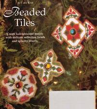 BEADED TILES CHRISTMAS ORNAMENTS PLASTIC CANVAS PATTERN INSTRUCTIONS
