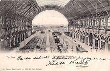 # TORINO: INTERNO DELLA STAZIONE - 1901