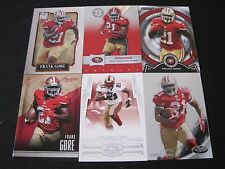 F10) Lot of 30 Different Frank Gore Totally Certified Strata Prestige Elite SF