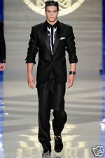 BRAND NEW VERSACE TAILOR MADE TUXEDO SUIT  48 - 38