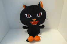"HALLOWEEN 13"" Black Cat Plush Sugar Loaf 2009 Coinstar"