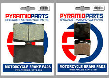 MZ 660 (MUZ) Skorpion Tour 1995 Front & Rear Brake Pads Full Set (2 Pairs)