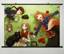 Spice and Wolf Horo Home Decor Anime whole Poster Wall Scroll Cosplay New 049