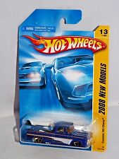 Hot Wheels 2008 New Models #13 Custom '62 Chevy Blue w/ Black Surf Board