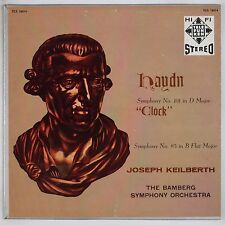 HAYDN: Symphony 101 The Clock KEILBERTH Telefunken Hi-Fi Stereo LP NM-