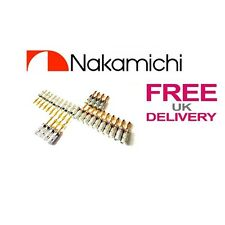 28x Quality Nakamichi Speaker banana plug 24k Gold plated connector **UK**