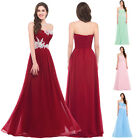 Long XMAS Dress Evening Formal Wedding Ball gown Bridesmaid Party Prom COCKTAIL
