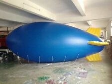 6M 20ft Inflatable Advertising Blimps /Flying Giant Helium Airplane /Free Logo