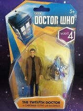 """DOCTOR WHO 3.75"""" BOXED FIGURE - THE 12th TWELFTH DOCTOR in CARETAKER OUTFIT"""