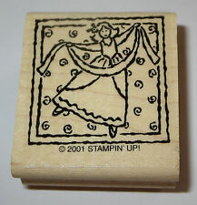 Ladies Dancing Stampin' Up! Rubber Stamp 12 Days of Christmas Song New Retired