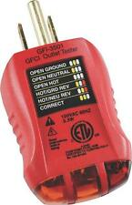 NEW GB GFI-3501 GFCI RECEPTACLE ELECTRICAL PLUG OUTLET TESTER 1738475