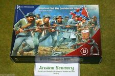Perry Miniatures AMERICAN CIVIL WAR CONFEDERATE INFANTRY 1861-1865 28mm set