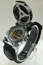 Warriors Golden State 2016 NBA Quartz Watch 73 wins Led lights rotating cap new