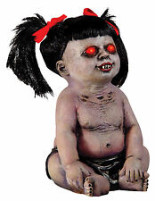 HALLOWEEN LIFE SIZE  DEMONICA THE UNDEAD BABY ZOMBIE POSSESSED PROP DECORATION