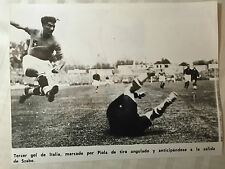 photo press football   Coupe du Monde 1938 Finale Italie- Hongrie    565