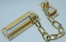 TOP QUALITY SOLID BRASS SECURITY SAFETY DOOR CHAIN