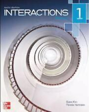 Interactions Level 1 Reading Student Book Plus Registration Code for Connect ESL