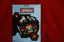 SAMURAI JACK Season 2 Two Second DVD CARTOON NETWORK ANIME