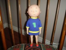 Caillou Rubber Doll with TShirt 1999 Irwin Toy 12 inch