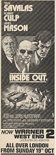 Original magazine advert(1975)Telly Savalas Robert Culp James Mason INSIDE OUT
