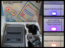 SUPER FAMICOM 50/60 HZ PAL/NTSC BOXED AND COMPLETE WITH RGB CABLE SNES NINTENDO