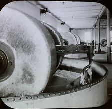 Massive Granite Crushers, Paper Mill, Skotifos,Norway,Magic Lantern Glass Slide