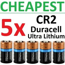 5 x CR2 Duracell 3V Ultra Lithium Batteries ( DLCR2, CR17355, ELCR2 ) 2026 EXP