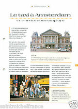 Port Amsterdam Tram Bicycle Taxi Nederland Pays-Bas Netherlands FICHE FRANCE