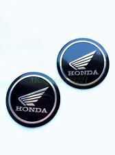 Motorcycle Honda 2'' Aluminum Emblem Badge Decals Stickers