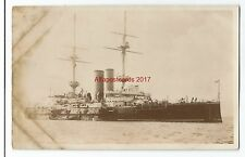 Shipping Naval Battleship HMS Goliath Real Photo Vintage Postcard 25.1
