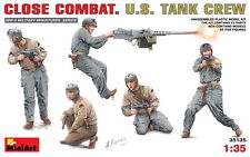 MiniArt Models 1/35 US Tank Crew - Close Combat (5 figures)